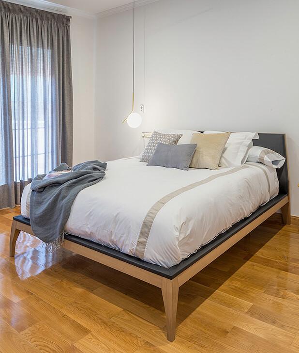 Decoración de interiores conjunto dormitorio
