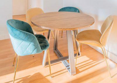Interiorismo Vivienda Durango mueble comedor