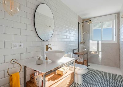 Interiorismo Vivienda Durango cuarto de baño