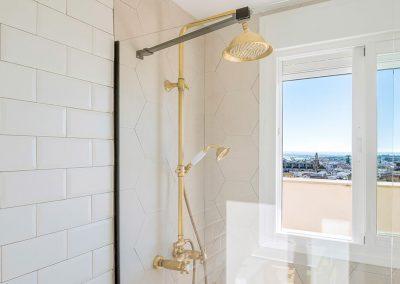 Interiorismo Vivienda Durango ducha