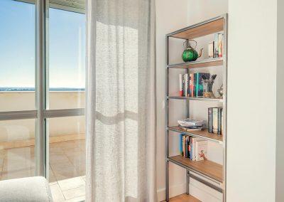 Interiorismo Vivienda Durango mueble estantería