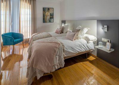 Interiorismo Vivienda Halcón dormitorio